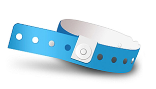 L-Shape Vinyl Wristbands