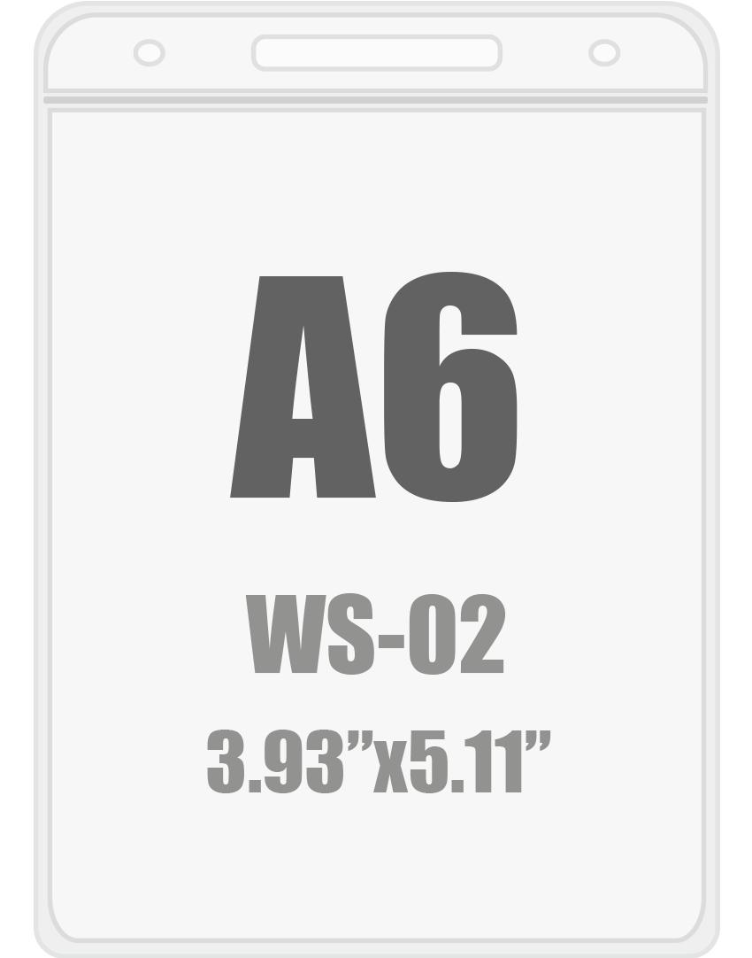 A6 Badge Holder