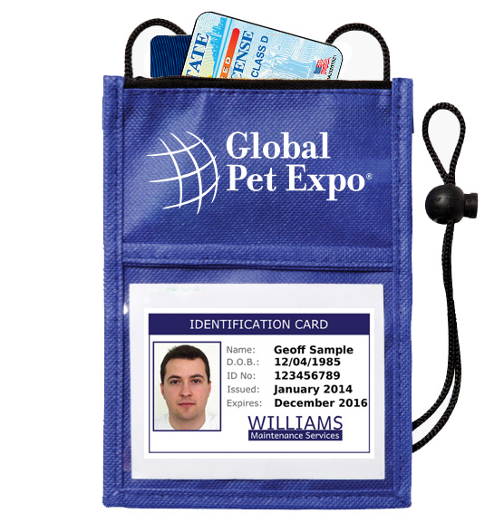 Non-Woven Neck Walet ID Holder
